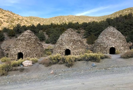 Wildrose Charcoal Kilns in Death Valley National Park