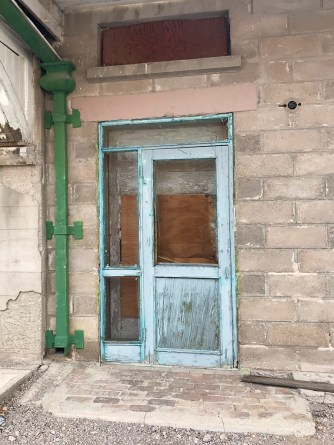 Abandoned Building Door