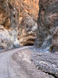 Driving Through The Titus Canyon Narrows