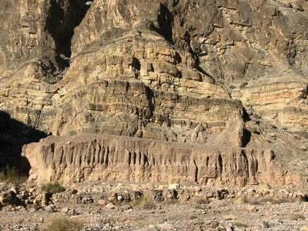 Layered Rock Walls in Titus Canyon