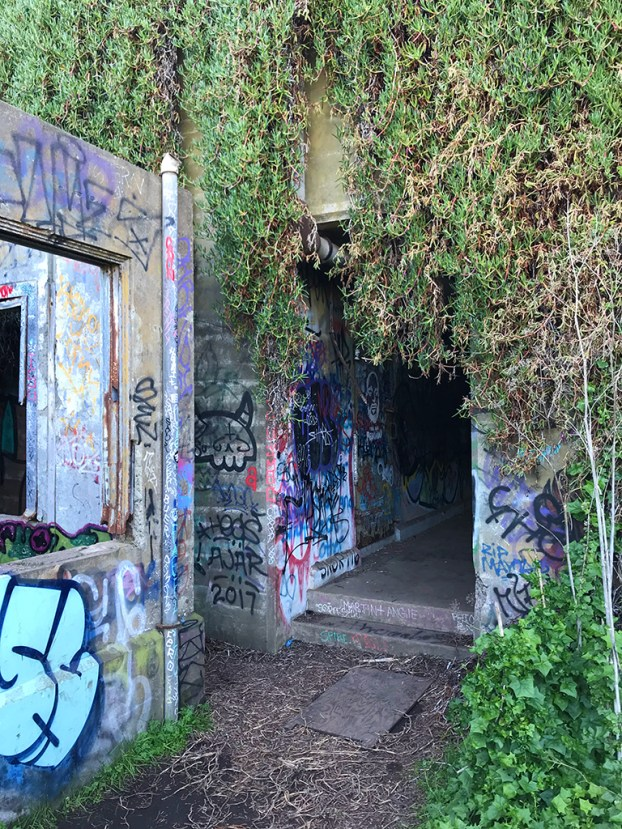 Abandoned Military Buildings at Battery Mendell
