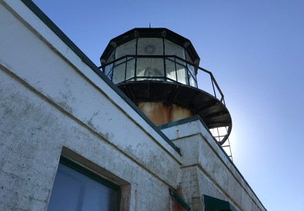 Historic Lighthouse at Point Bonita in Marin County