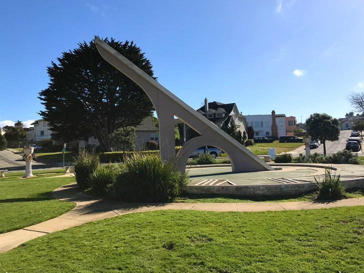 Ingleside Sundial in Sundial Park