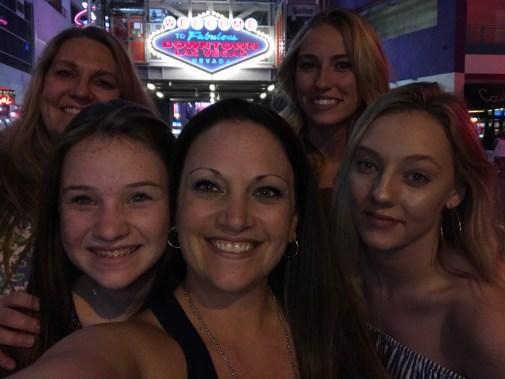 Ladies Weekend In Las Vegas Selfie