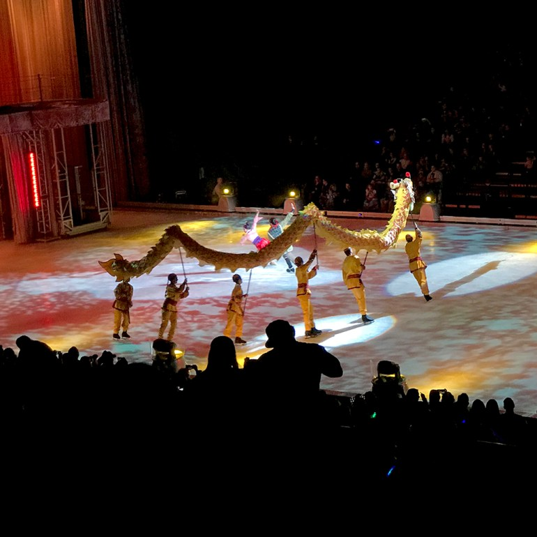 Mulan in Disney On Ice Follow Your Heart
