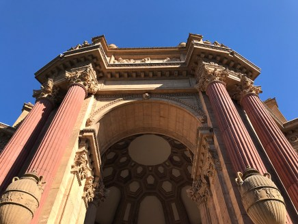 An Entrance to the San Francisco Palace of Fine Arts