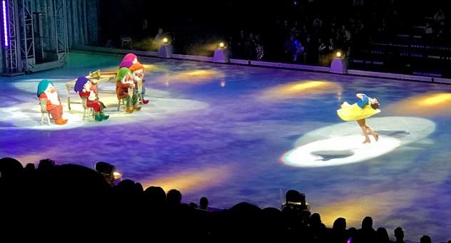 Snow White in Disney On Ice at Golden 1 Center
