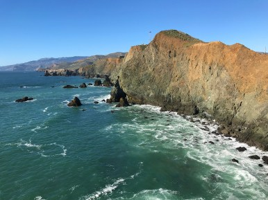 View of the Main Coastline From the Point Bonita Lighthouse