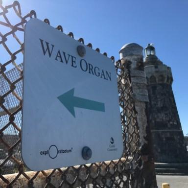 Wave Organ Sign