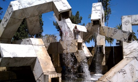 Vaillancourt Fountain in San Francisco in 2010