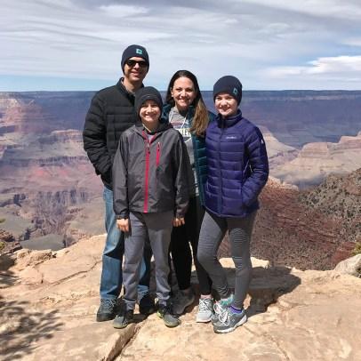 Bourn Family At Pipe Creek Vista