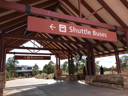 Grand Canyon Shuttle Bus Pavilion