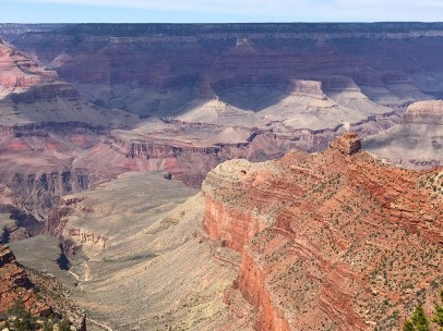 View of Grand Canyon From Pipe Creek Vista on Desert View Drive