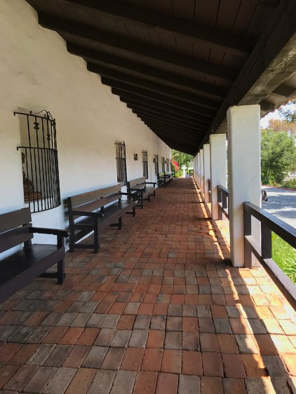 Mission San Diego Covered Walkway