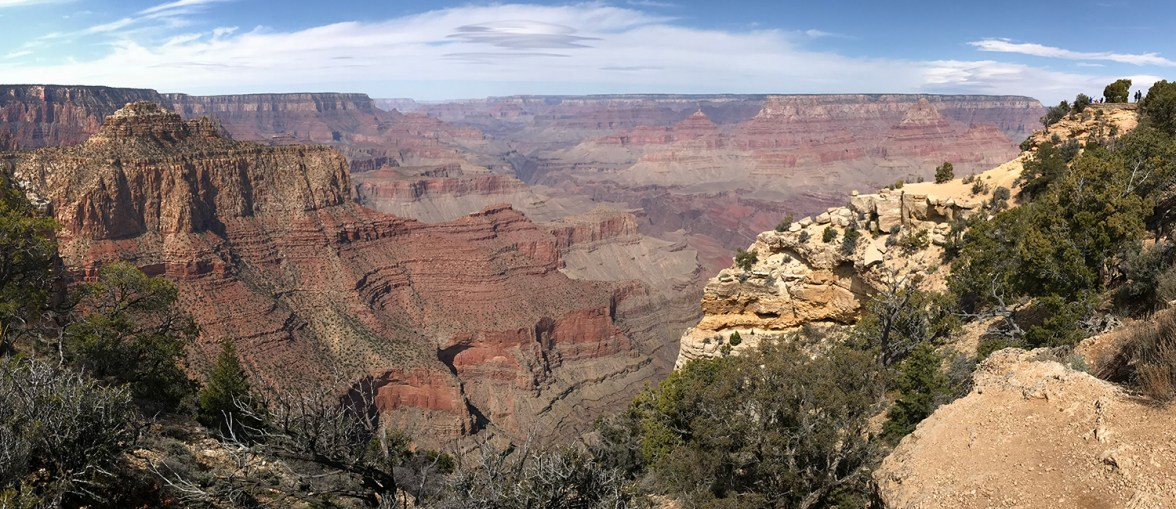Moran Point Scenic Overlook at Grand Canyon National Park