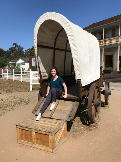 Natalie Bourn in A Covered Wagon