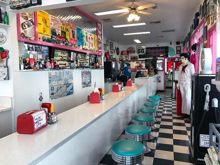 Old Fashioned 1950s Diner
