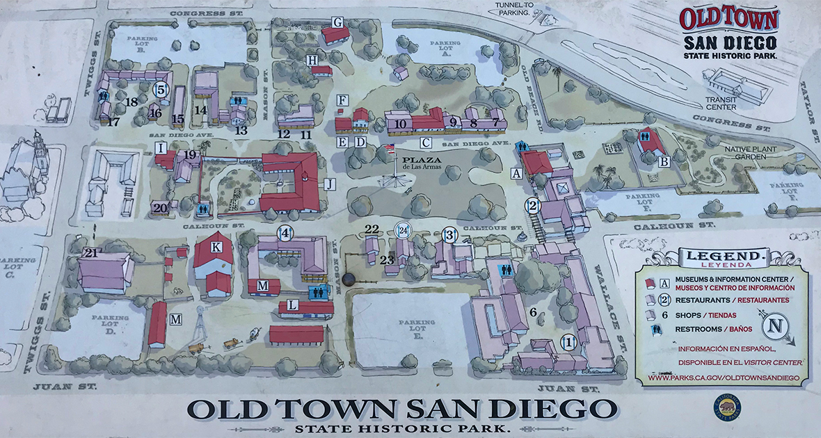 Tour Old Town San Diego State Historic Park