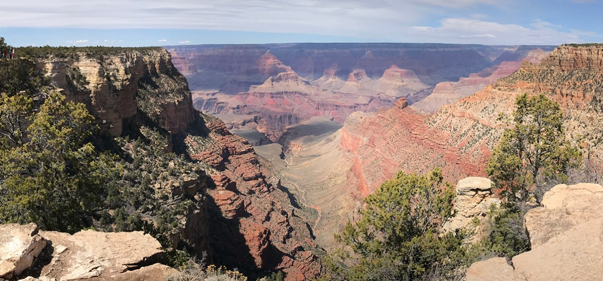 Pipe Creek Vista Scenic Overlook in Grand Canyon National Park