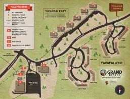 Yavapai Lodge Map