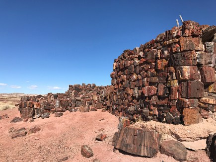 Agate House at Petrified Forest National Park