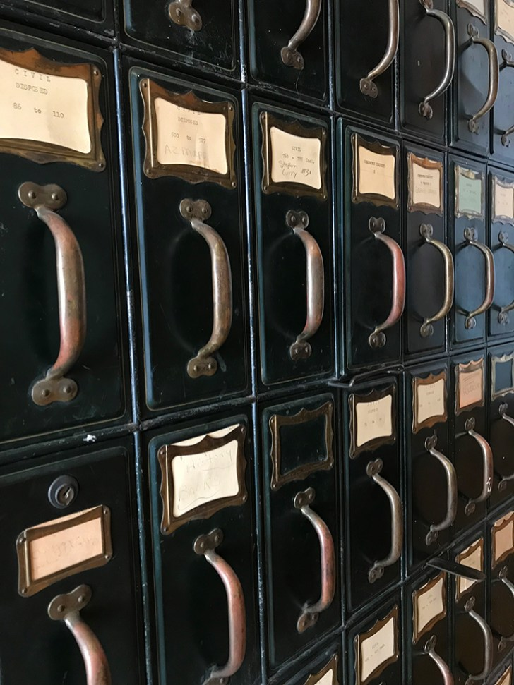 Antique Filing System