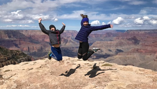 Carter And Natalie Bourn at Hopi Point Scenic Overlook