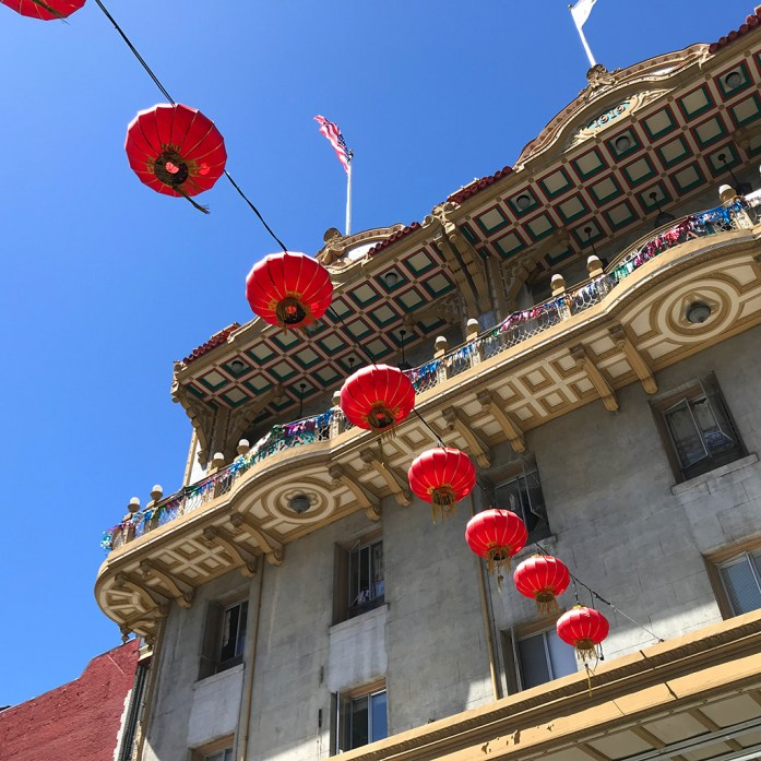 Chinatown Red Lanterns