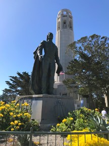 Christopher Columbus Statue at Coit Tower