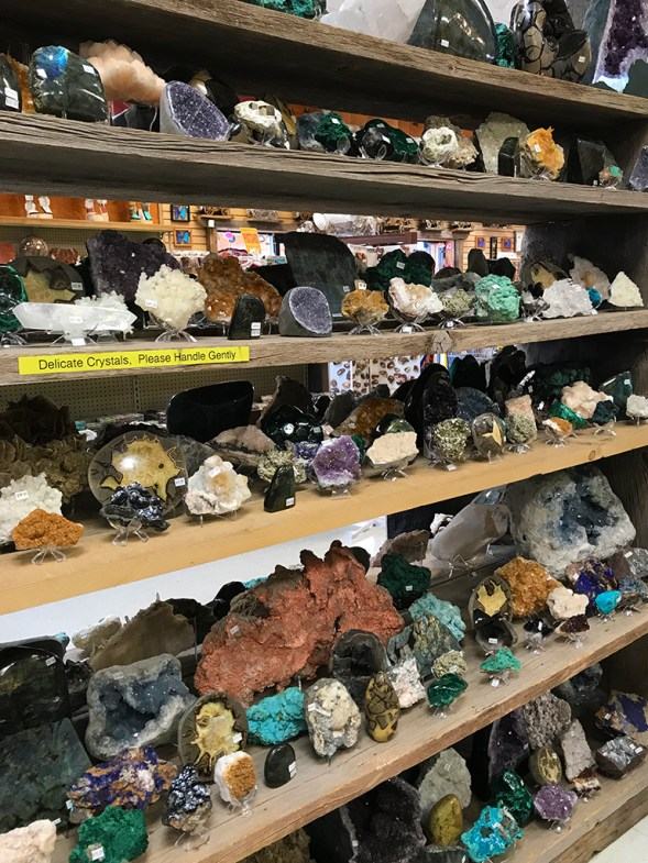 Crystals, Geodes, and Rocks