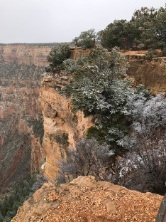Dusting of Snow in Grand Canyon National Park