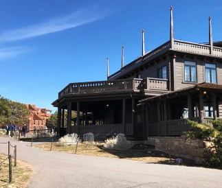El Tovar and Hopi House in Grand Canyon Village
