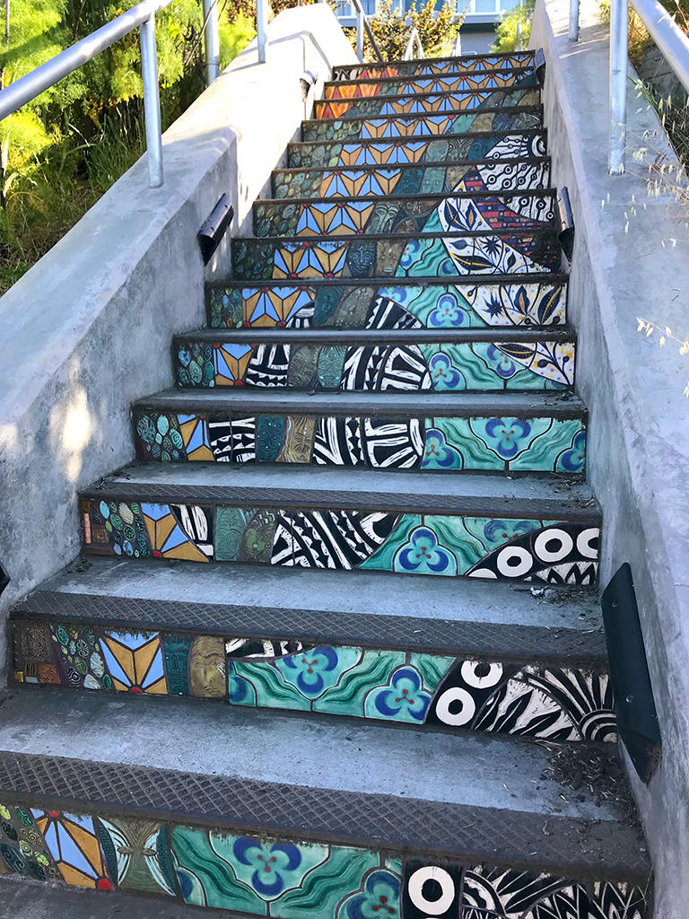 Flights Of Fancy Staircase In The Bayview District