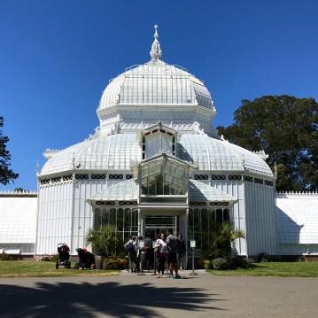 Vistorian-Era Glass Greenhouse at Golden Gate Park