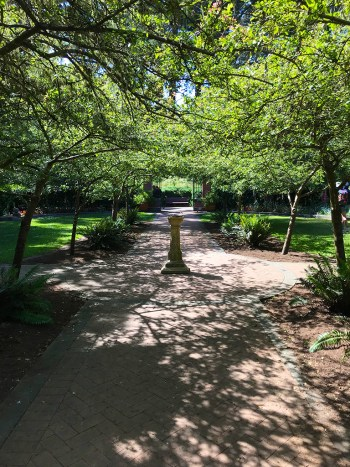 Golden Gate Park Shakespeare Garden Walkway