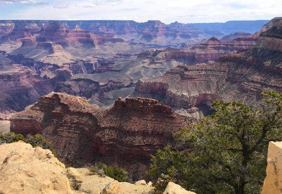 Grand Canyon Views from Powell Point Off Hermit Road