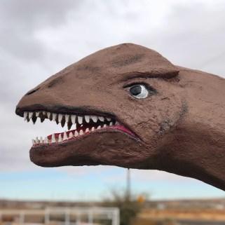 Jim Gray's Petrified Wood Company Dinosaurs