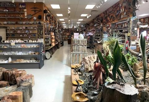 Jim Gray's Petrified Wood Company Store