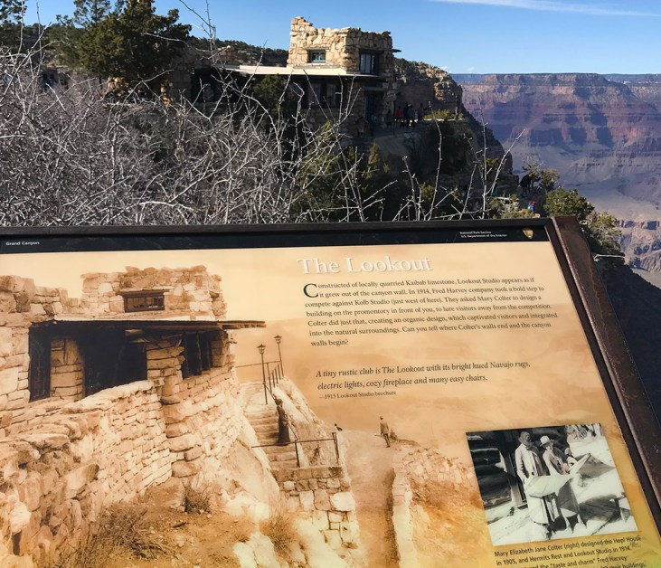 Lookout Studio Interpretive Sign
