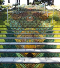 Mosaic Stairs in San Francisco's Lincoln Park