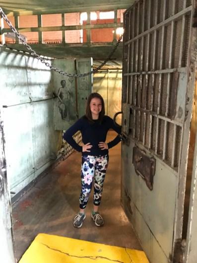 Natalie Bourn At The Historic Holbrook Jail