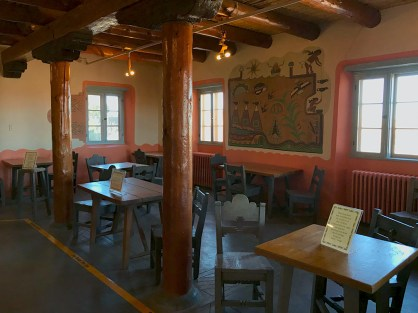Painted Desert Inn Museum Seating Area