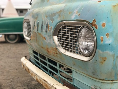 Rusty and Dusty Cars at he Route 66 Wigwam Motel