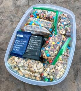 Rx Bars, Trail Mix, Nuts, Raisins