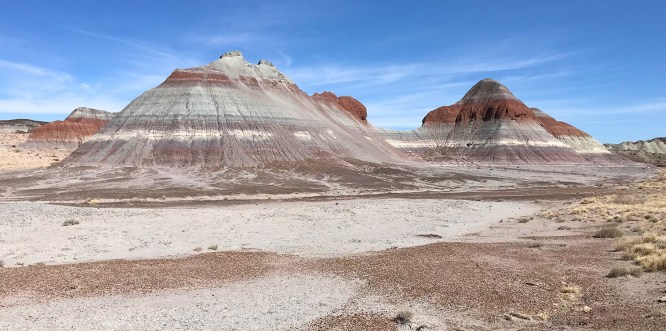 The Teepees, Part of the Blue Mesa Chinle Formation