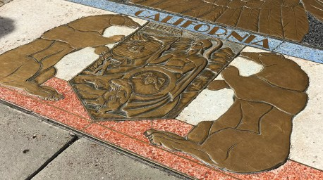 California Tile Work Inlay at Hoover Dam
