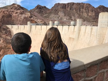Carter and Natalie Bourn Checking Out Lake Mead
