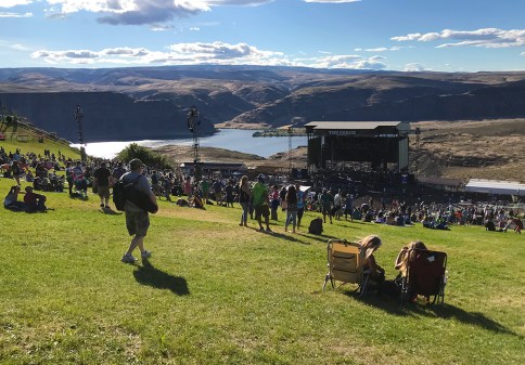 General Admission Lawn Seats At The Gorge Amphitheater