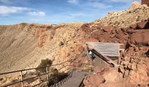 Lower Observation Platform at Meteor Crater in Nevada