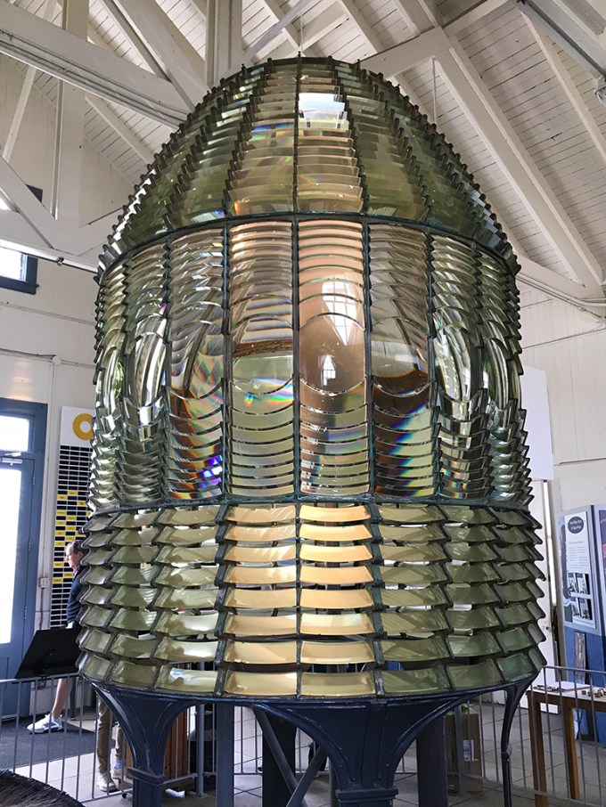 Pigeon Point Fresnel Lens